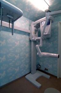 ニコ小児歯科医院レントゲン室